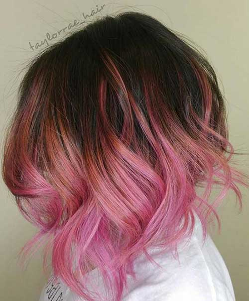 Pink Short Hairstyles-8