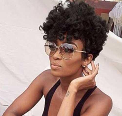 Short Haircuts for Black Women
