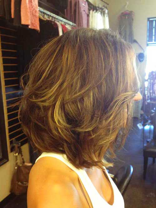 Short Layered Bob Cuts The Best Short Hairstyles For