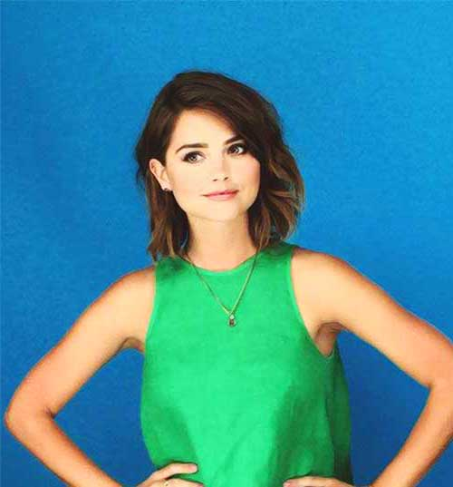 Female Celebrities with Short Hair-13