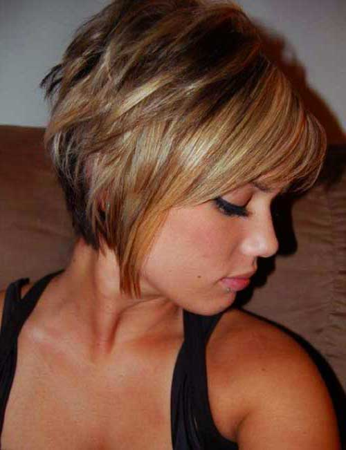 Short Layered Bob Cuts-14