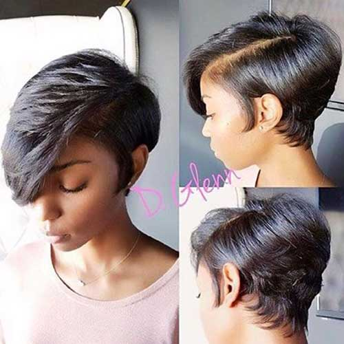 Short Haircuts for Black Women-14