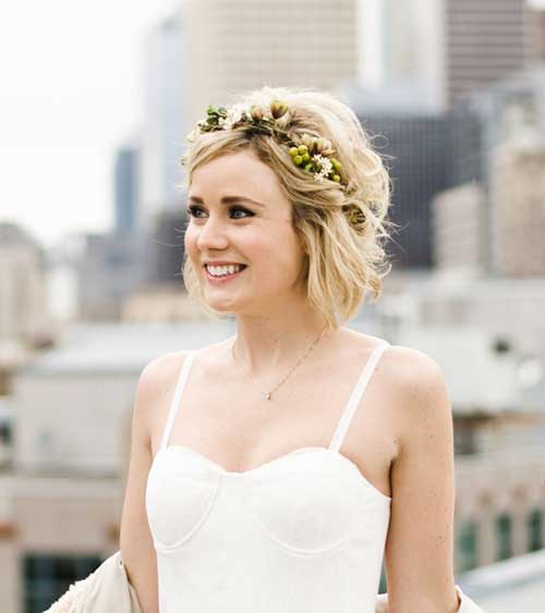 Wedding Short Hairstyles-14