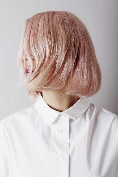Pink Short Hair-7