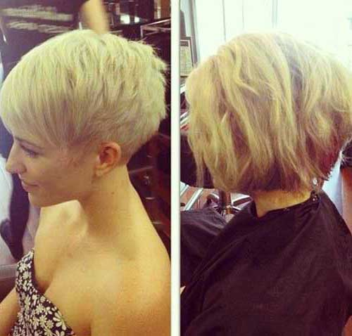 Blonde Color for Short Hair