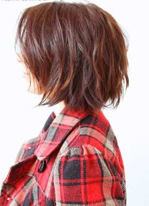 Nice Brown Short Hair Colors