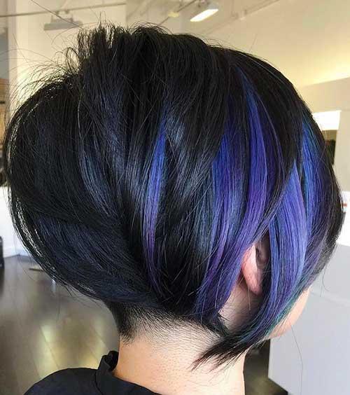 Short Haircuts and Colors