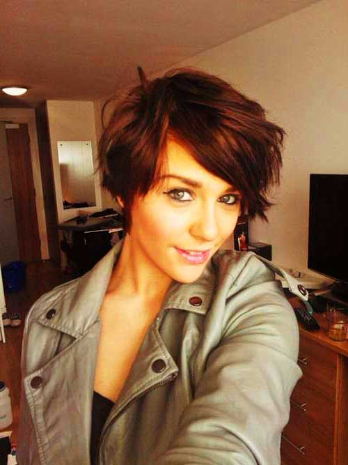 Short Pixie Hair Color Ideas