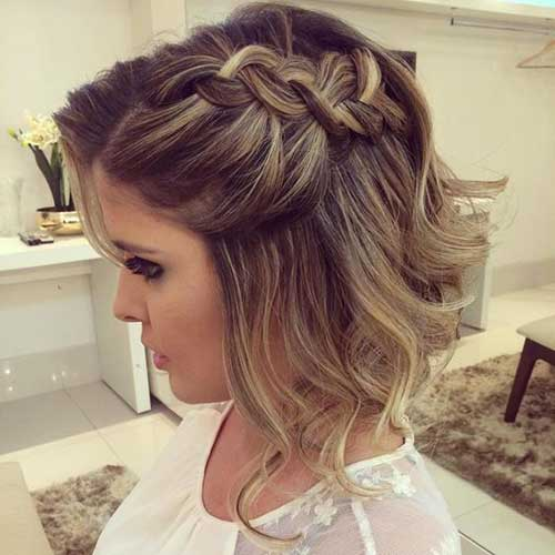 Excellent Wedding Hairstyles for Short Hair | The Best Short ...