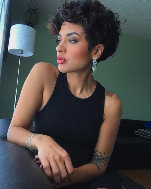 Curly Short Hairstyles-13