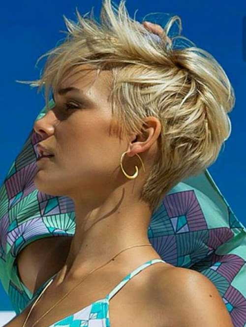 2018 Latest Longer Pixie Hairstyles The Best Short