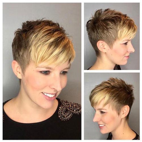 Frisuren für Pixie Cuts