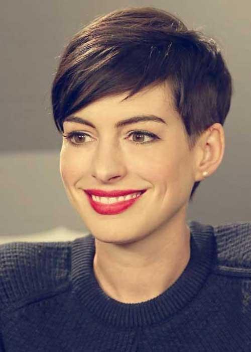 Anne Hathaway Pixie Hairstyles