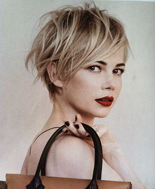 Michelle Williams Pixie Hairstyles