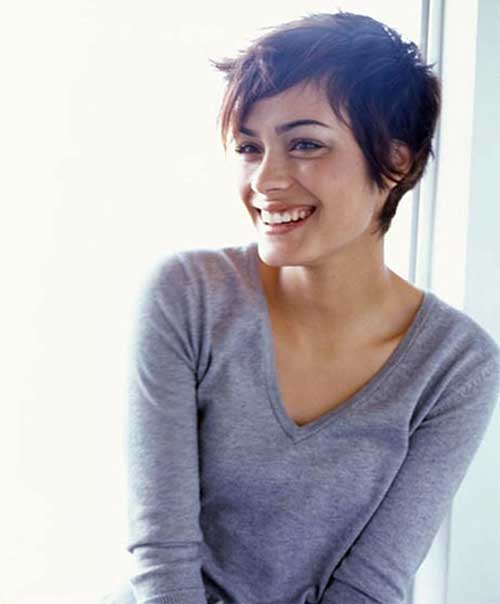 Short Pixie Haircuts Model
