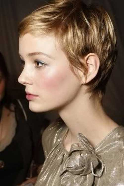 Carey Mulligan Growing Out Pixie