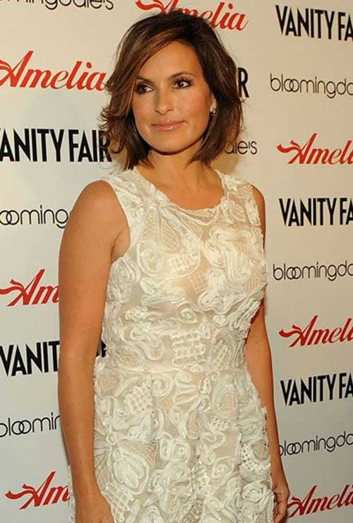 Olivia Benson Cute Short Bob Hairstyles