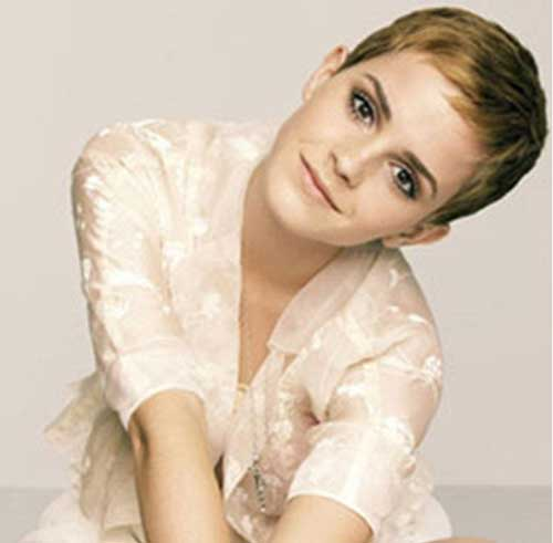 Emma Watson Very Short Pixie Haircuts