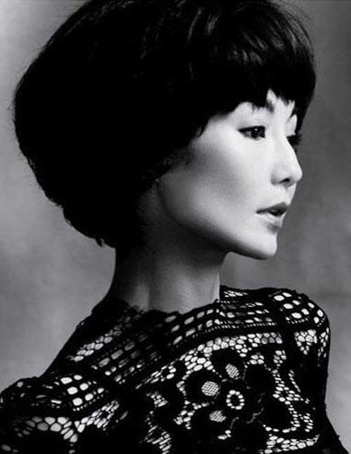 Short Hairstyles with Thick Hair for Japenese Girls