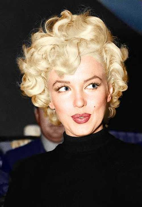 Marilyn Monroe Short Graduated Bob Hairstyles