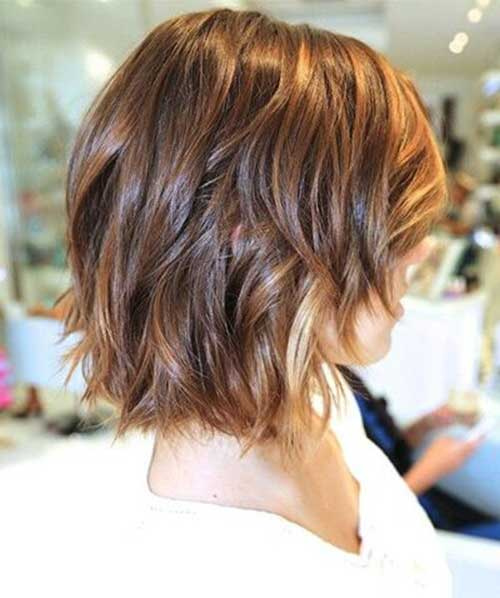 Shinny Color for Short Hair