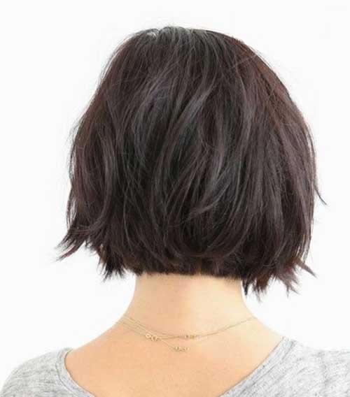 2015 Dark Bob Hairstyles