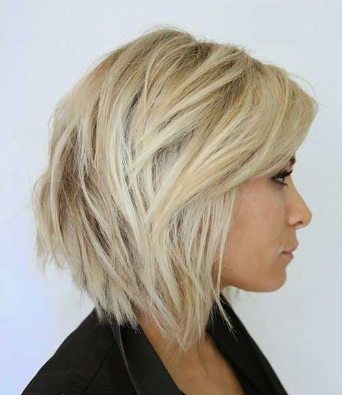 Cute Haircut for Blonde Women