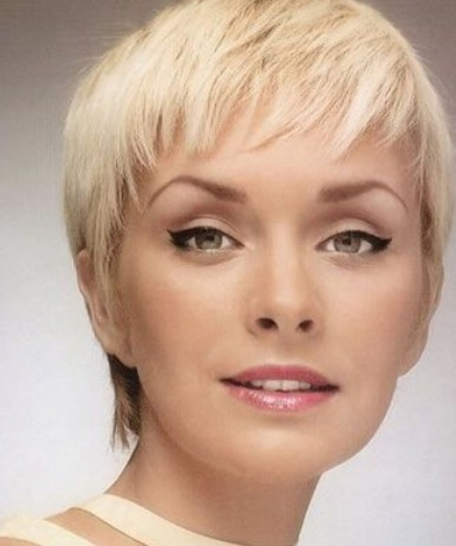 Latest Fashion Pixie Haircut for Women 2015