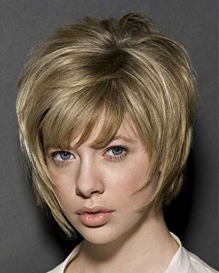 Very Short Blonde Bob Hairdos