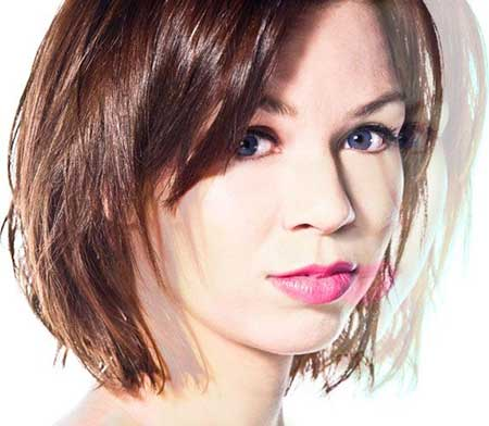 Sweet Interesting Messy Layered Bob Hairstyles
