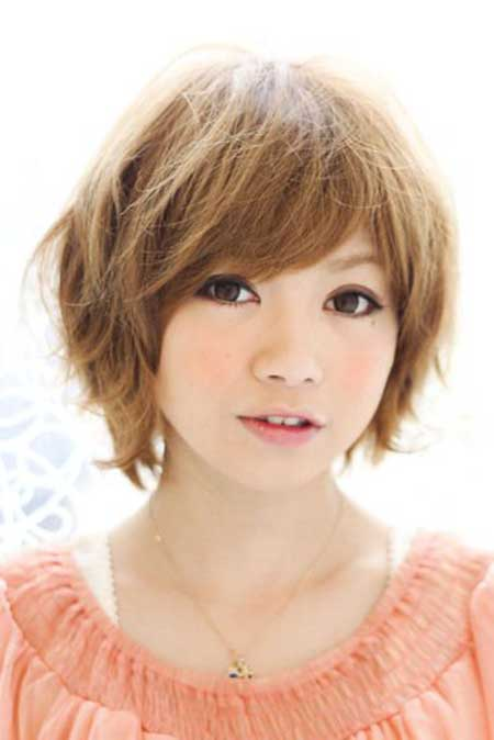 Asians Hairstyles Simple Cute Messy Layered Bob