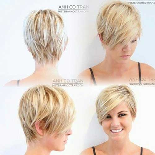 Asymmetrical Long Pixie