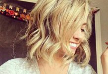 Beach Waves Short Hair