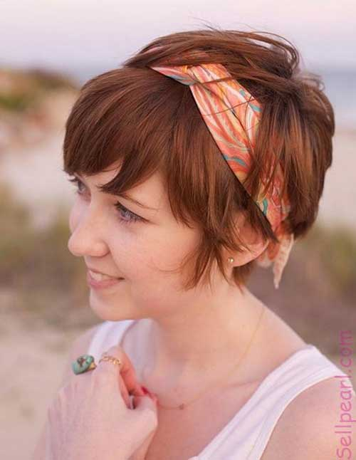 Cute Short Hair with Headband