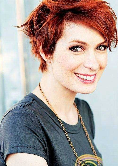 Felicia Day Short Hair
