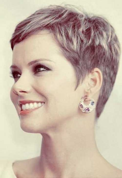 Great Short Blondy Pixie Hairstyles