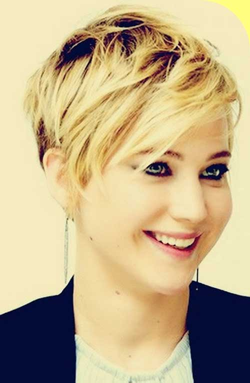 Jennifer Lawrence's Pixie Cut
