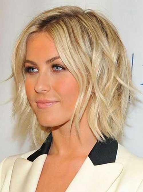 Julianne Hough Short Wavy Hair