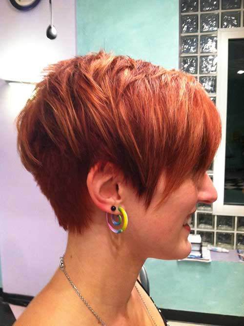 Pretty Layered Short Hairstyles