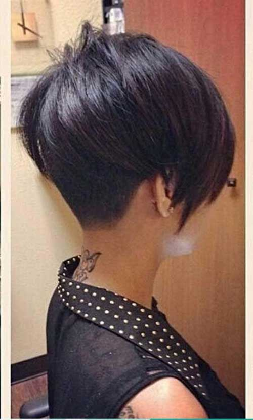 Long Asymmetrical Pixie Hairstyles