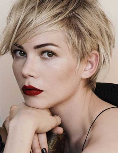 Michelle Williams Short Hairstyle