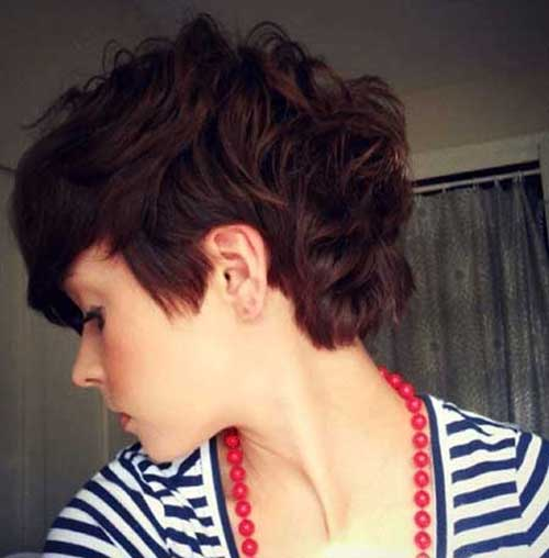 Pixie Curly Hairstyle
