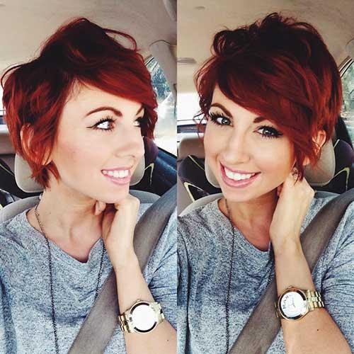 Red Hair Cutest Pixie
