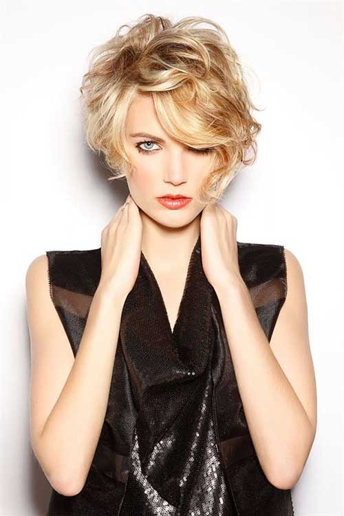 Curly Short and Cute Pixie Haircuts