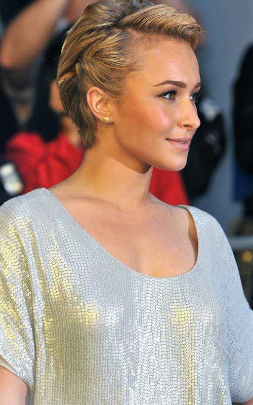 Hayden Panettiere Pixie Short Haircuts 2014