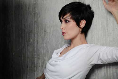 Pixie Short Hair Black