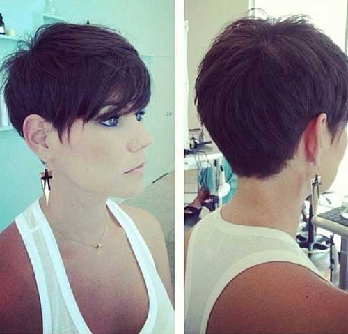 Short Hairstyles For Women Back