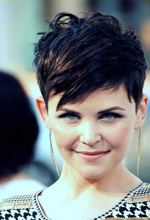 Charming Spiky Short Hairstyle