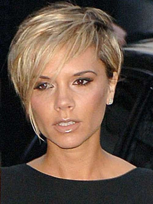 Victoria Beckham's Long Pixie Style