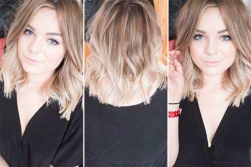 Pretty Blonde Wavy Hairstyles for Women